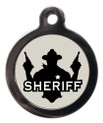 Sheriff Pet Identification Tag