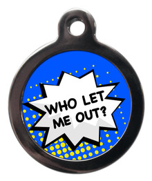 Who Let Me Out - Dark Blue