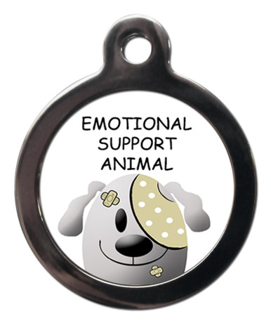 Emotional Support Animal Identity Tag