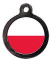 Polish Flag Pet ID Tag