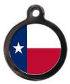 Texas Flag Pet ID Tag