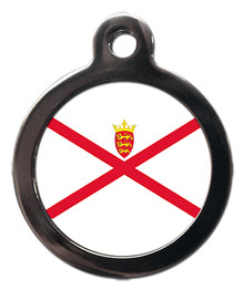 Jersey Flag Pet ID Tag