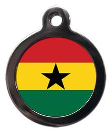 Flag of Ghana Pet Tag