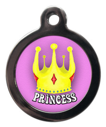 PRINCESS DOG TAG FOR DOGS