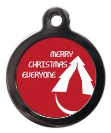 Merry Christmas Everyone Dog Dog Tag