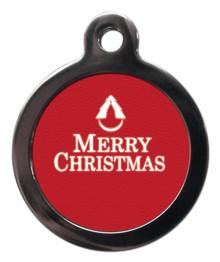 Merry Christmas Pet Tag