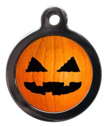 Pumpkin Pet Tag
