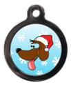 Christmas Doggie Dog Tag For Dog