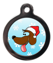 Christmas Doggie Dog Tag For Dog