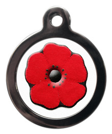 Poppy Dog Tag For Dogs