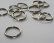 Nickel Plated Split Ring
