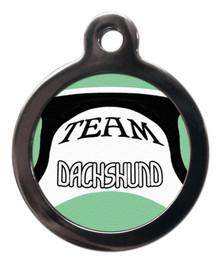 Team Dachshund Dog Dog Tag