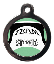 Team Staffie Tag for Dogs