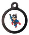 Flying Supercat Name ID Tag