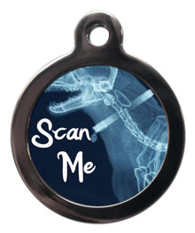 Scan Me Fun Pet ID Tag