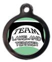 Team Lakeland Terrier Pet ID Tag