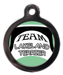 Team Lakeland Terrier Pet ID Tag
