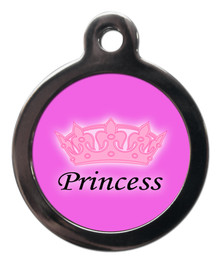 Cute Princess Pet ID Tags