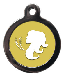 VIRGO ASTROLOGY PET TAGS