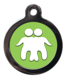 GEMINI ASTROLOGY PET ID TAG