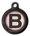 Letter B Pet ID Tags