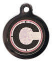 Letter C Pet ID Tags