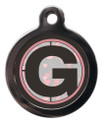 Letter G Dog ID Tag