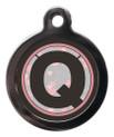 Initial Q Dog ID Tag
