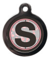 Letter S Dog ID Tag