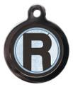 Letter R Pet Tags