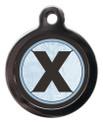 Initial X Pet Tags