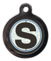 Letter S Pet ID Tags