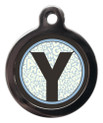 Initial Y Pet ID Tags