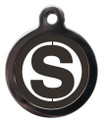 Letter S Dog ID Tags