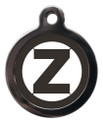 Initial Z Dog ID Tags