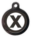 Initial X Dog ID Tags