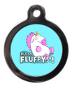 It's So Fluffy Dog ID Tag