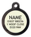 Dog ID Tag