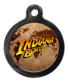 Indiana Bones Pet ID Tag
