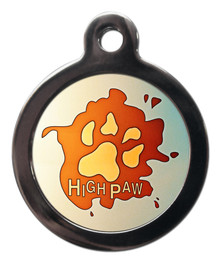 High Paw Pet ID Tag