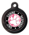 K9 Response Unit Female Pet ID Tag