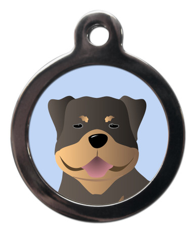 Rottie Rottweiler Breed Dog ID Tags