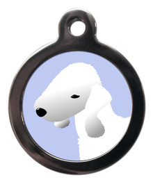Bedlington Terrier Breed Pet Tag