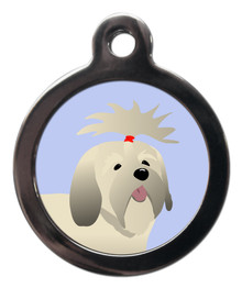 Lhasa Apso Breed Dog Tag