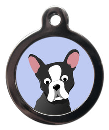 Boston Terrier Breed Pet Tag