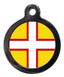 Dorset Flag Pet ID Tag