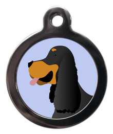 Gordon Setter Breed ID Tag