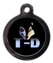 T-D Terminator Dog ID Tag