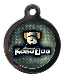 Robo Dog Pet ID Tag