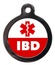 IBD Medical Alert Pet Dog ID Tag